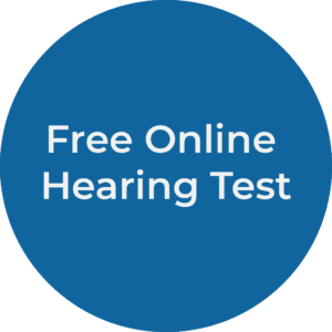 Hearing test button